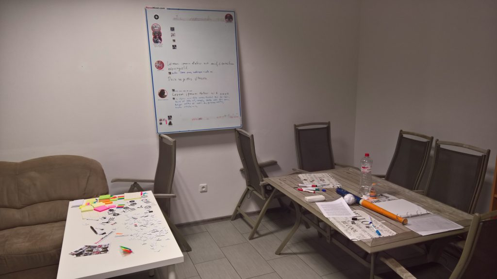 Creative space in 2nd office